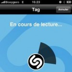 fonctionnement application iphone shazam
