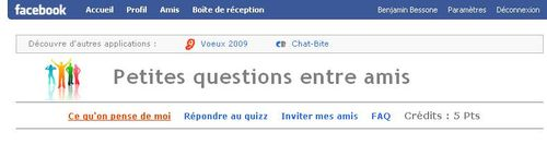 Facebook-amis-questions
