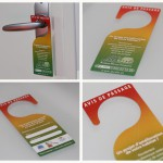 flyer porte flyer accroche porte easyflyer imprimerie en ligne discount