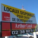 location locaux commerciaux orleans arthur loyd